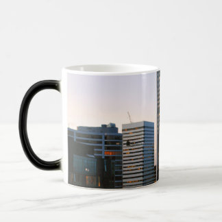Portland City Skyline at Dusk Magic Mug