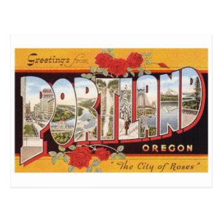 Portland: Ciudad de rosas Postal