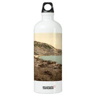 Portland Cove, Dorset, England Water Bottle
