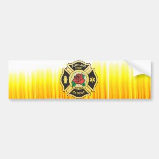 Portland Fire Dept. Bumper Sticker