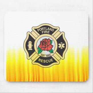 Portland Fire Dept. Mousepad