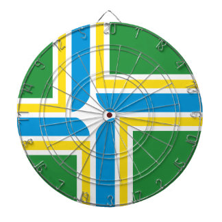 Portland flag dartboards