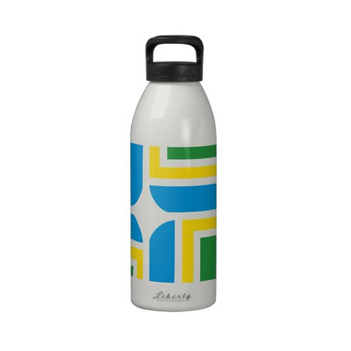 Portland flag water bottle
