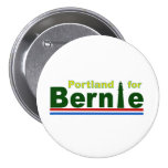 Portland for Bernie 3 Inch Round Button