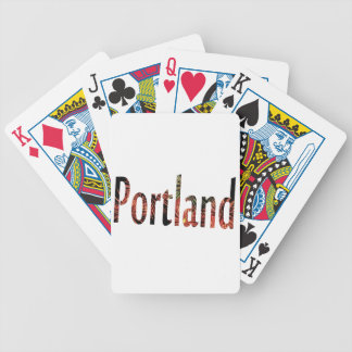 Portland Fourth of July Bicycle Playing Cards