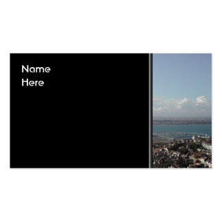 Portland Harbour. Dorset, UK. Business Card Templates