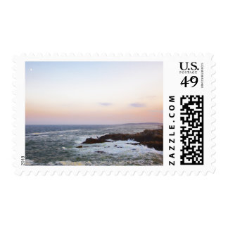 Portland Head and view to Atlantic Ocean Postage Stamp