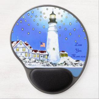 Portland Head Light 1791 Gel Mouse Pad
