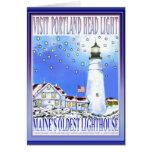Portland Head Light  #2   by Brigid O'Neill Hovey Card