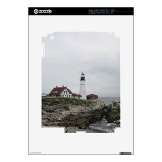 Portland Head Light 2 Decal For iPad 2