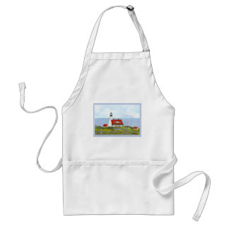 """Portland head Light """"A View fron the Hill"""" Adult Apron"""