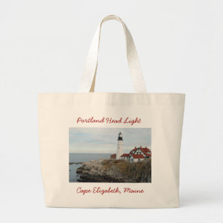 Portland Head Light Jumbo Tote Bag