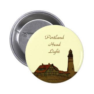 Portland Head Light Button