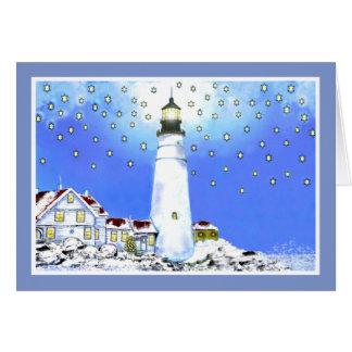 Portland Head Light by Brigid O Neill Hovey Greeting Card