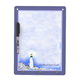 Portland Head Light by Brigid O'Neill Hovey Dry Erase Board