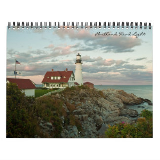 Portland Head Light Calendar