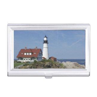 Portland Head Light, Cape Elizabeth,Maine, Business Card Case