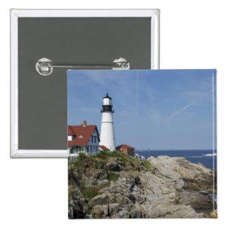 Portland Head Light, Cape Elizabeth,Maine, Button