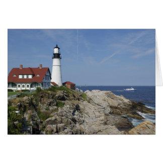 Portland Head Light, Cape Elizabeth,Maine, Card
