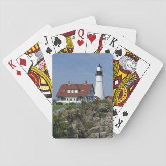 Portland Head Light, Cape Elizabeth,Maine, Playing Cards