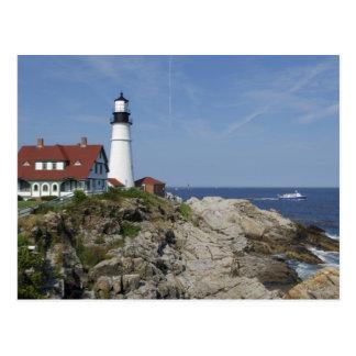 Portland Head Light, Cape Elizabeth,Maine, Postcard