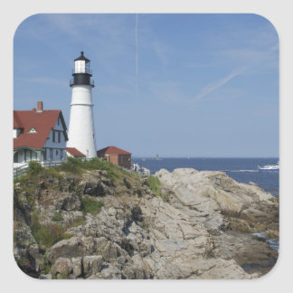 Portland Head Light, Cape Elizabeth,Maine, Square Sticker