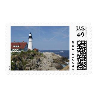 Portland Head Light, Cape Elizabeth,Maine, Stamps