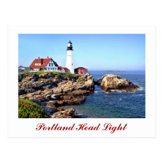 Portland Head Light, Cape Elizabeth, Maine, U.S.A. Postcard