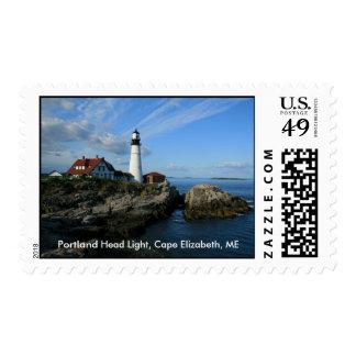 Portland Head Light, Cape Elizabeth, ME Stamps