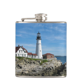 Portland Head Light Flask