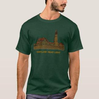 Portland Head Light Green T-Shirt