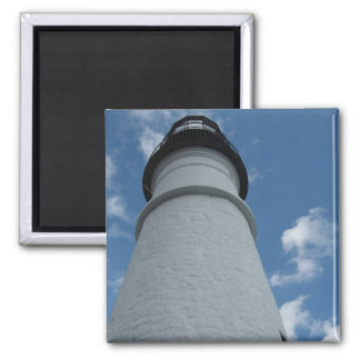 Portland Head Light Lighthouse 2 Inch Square Magnet