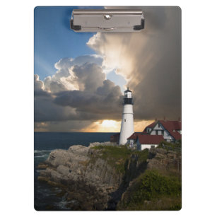 Portland Head Light Lighthouse, Maine, Clipboard