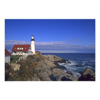 Portland Head Light Lighthouse Maine Photograph