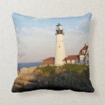 Portland Head Light Lighthouse Pillows
