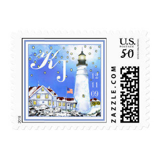 Portland Head Light, Maine by Brigid O'Neill Hovey Postage