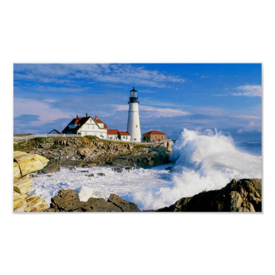 PORTLAND HEAD LIGHT, MAINE POSTER
