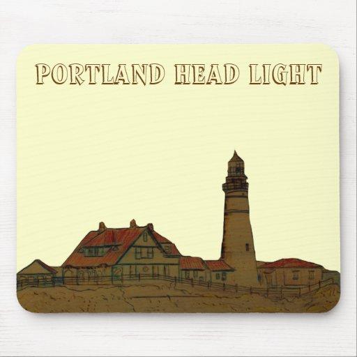 Portland Head Light Mouse Mats