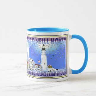 Portland Head Light, Mug by  Brigid O'Neill Hovey