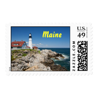 Portland Head Light Postage