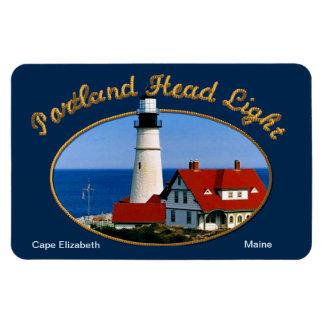 Portland Head Light Rectangular Photo Magnet