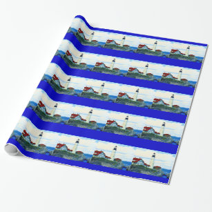 Portland Head Light Wrapping Paper