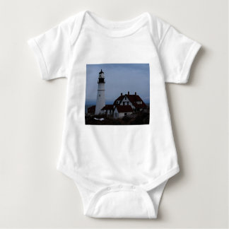 Portland Head Lighthou Baby Bodysuit