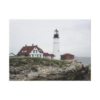 Portland Head Lighthouse 4 Canvas Print