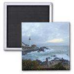 Portland Head Lighthouse at Sunrise Magnets