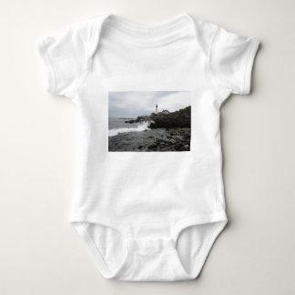 Portland Head Lighthouse Baby Bodysuit
