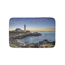 Portland Head Lighthouse Bathroom Mat