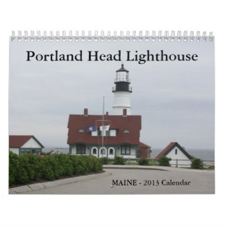 Portland Head Lighthouse Calendar