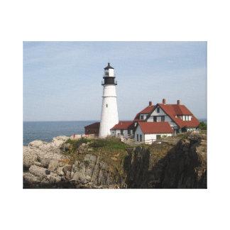 Portland Head Lighthouse Canvas Wrap