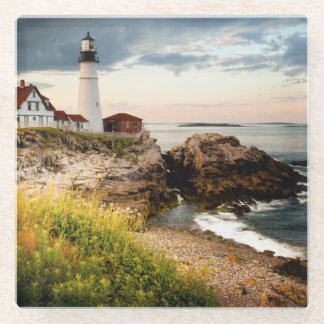 Portland Head Lighthouse | Cape Elizabeth, Me Glass Coaster